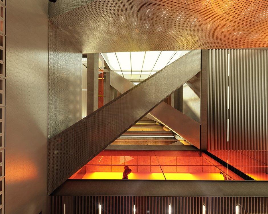 habillage escalier monumental
